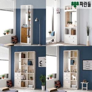 파란들 지니 LED거울화장대 겸 책장 모음전_ch