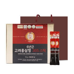 6-year old Korean Red Ginseng Extract 365 Stick/Red ginseng stick/squeezing type