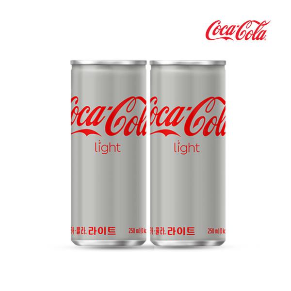 코카콜라 라이트 250ml x30캔/음료수/음료/캔음료 상품이미지