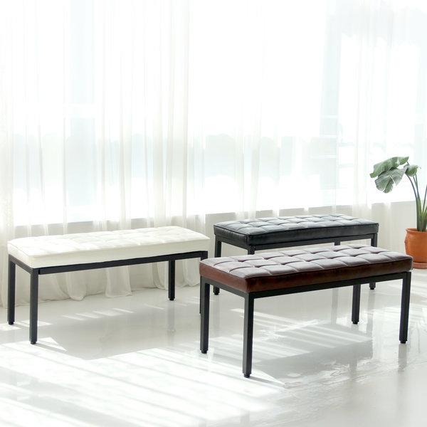 로엠가구 럭셔리스툴 2인용 벤치 피아노의자 스툴 상품이미지