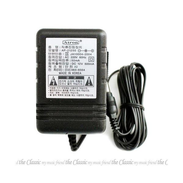 커즈와일 아답터 12V 500mA/SP-76/SP76 상품이미지