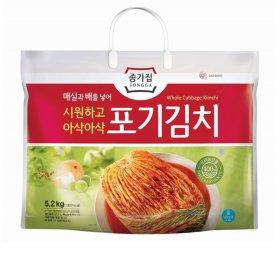 (전단상품)대상종가집 매실포기김치2.6kgx2