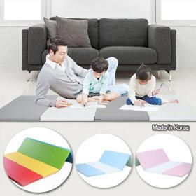 Made in Korea non-toxic PLAY ON 4 panels playroom mat folding mat