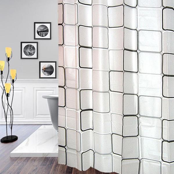 패브릭 방수 화장실 욕조욕실 샤워커튼 봉 압축 커텐 상품이미지