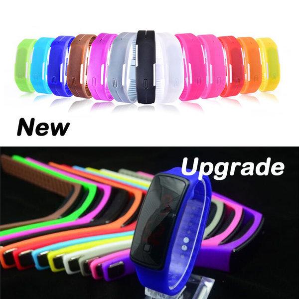 LED 젤리시계 실리콘 밴드형 손목시계 아동시계 상품이미지