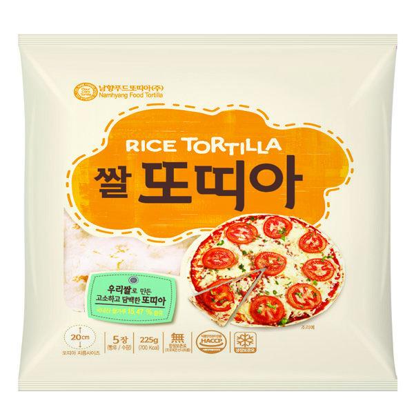 남향푸드또띠아 신제품   쌀또띠아 8호(냉장) 상품이미지