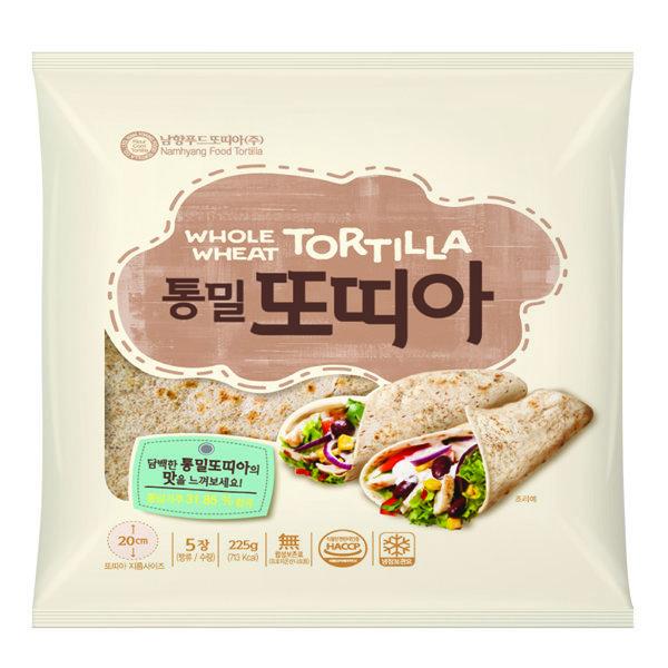 남향푸드또띠아 신제품    통밀또띠아 8호 (냉장) 상품이미지