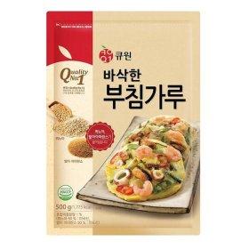 삼양사_큐원슈퍼곡물부침가루500G