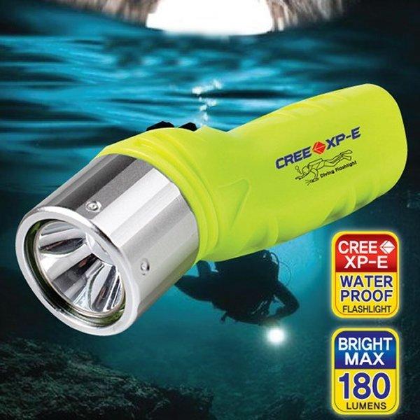 스쿠버다이빌 방수 라이트-LED 후레쉬 렌턴 잠수 용품 상품이미지