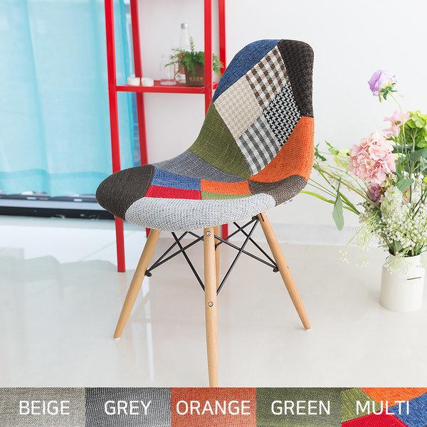 일루일루 모아 에펠 린넨/패브릭 기본형체어 5색상 상품이미지