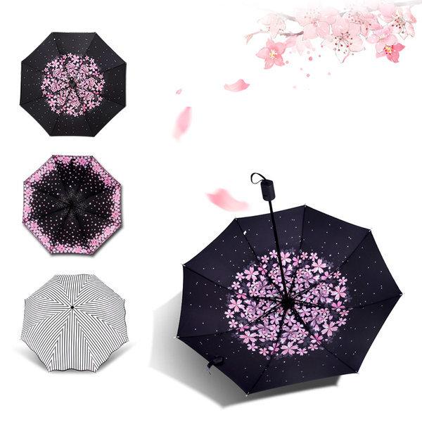 UV차단 3단우산/우양산/양산/암막우산/자동우산/방풍 상품이미지