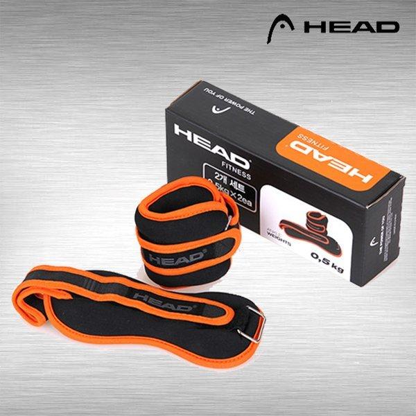 헤드 HEAD 발목 모래주머니 0.5kg 2개 체력벨트 중량밴드 상품이미지