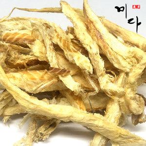 신선한 황금 황태채 1kg 마른명태포