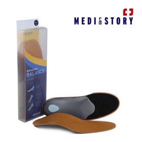 (발란스)메디앤스토리 기능성 구두 신발 평발 깔창XXS