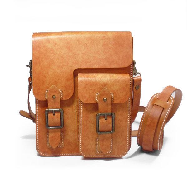 티독 크로스백 가죽가방 숄더백 수공예 이니셜 선물 상품이미지