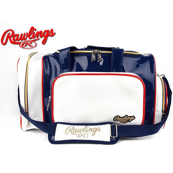 RAWLINGS (701020)롤링스 에나멜 중형가방 (곤/백) 상품이미지