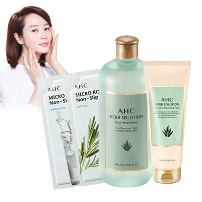 AHC new arrival sun stick 1+1 eye cream for additional gift