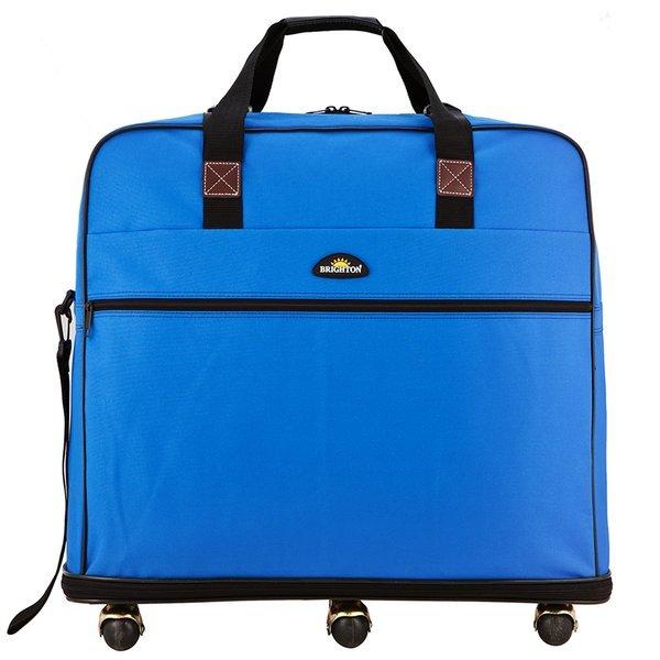 브라이튼  가성비갑 이민가방 BT02 블루 대형 유학 상품이미지