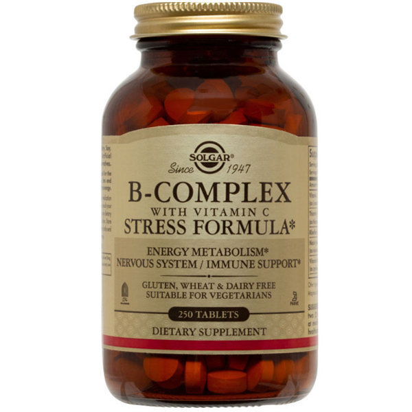 솔가 B Complex 비컴플렉스 +C 스트레스 포뮬라 250탭 상품이미지