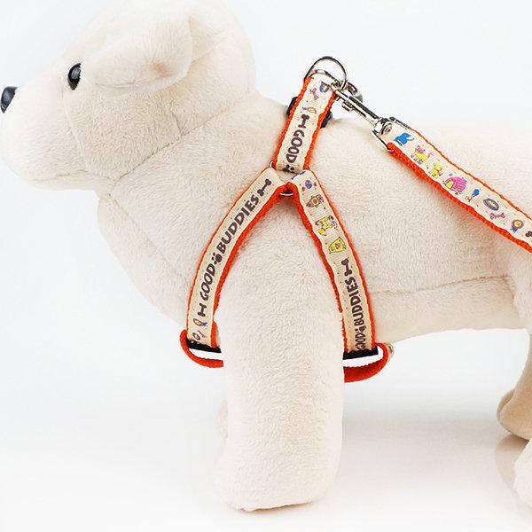 굿버디 가슴줄 세트 15mm/하네스 강아지용품 개줄 상품이미지