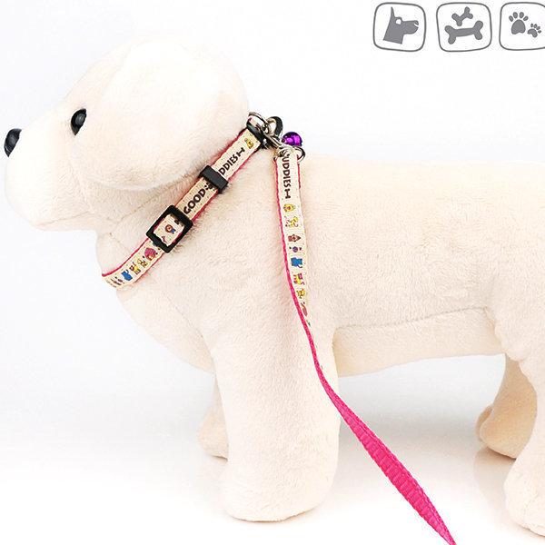 굿버디 목줄 세트 10mm/강아지목줄 강아지용품 상품이미지