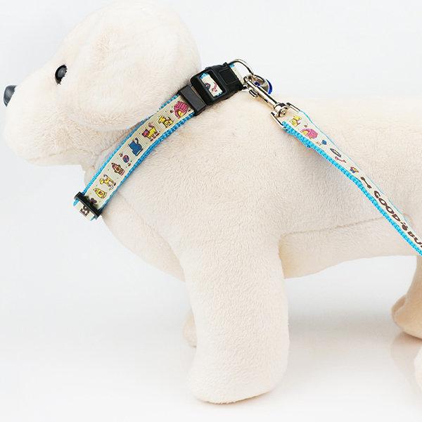 굿버디 목줄 세트 15mm/강아지목줄 강아지용품 상품이미지