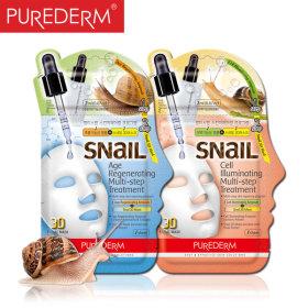 달팽이 3D입체 기능성 마스크팩/미백/주름개선/코팩