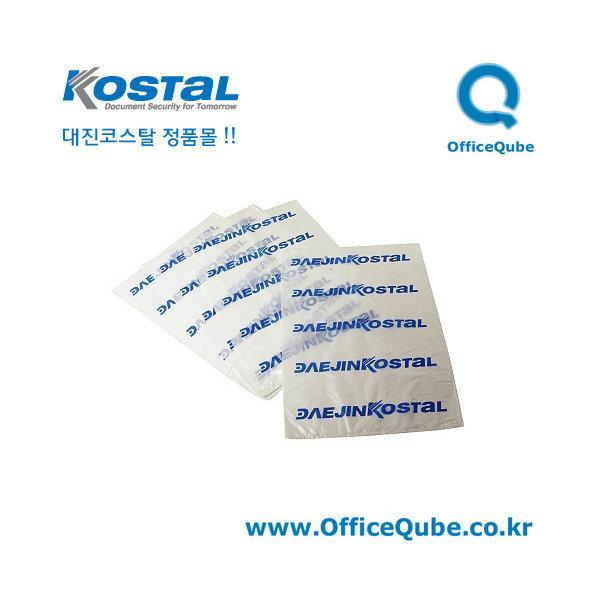 대진코스탈 문서세단기 파지 비닐 50매 / 오피스큐브 상품이미지