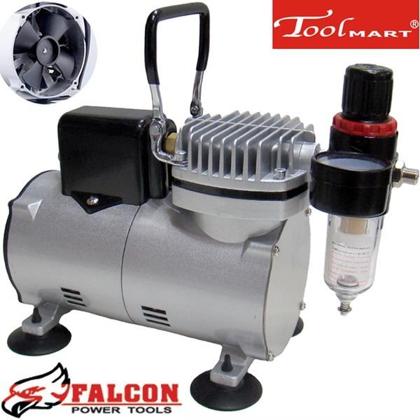 팔콘저소음미니에어콤프레샤 FAC-5004C 냉각팬 툴마트 상품이미지