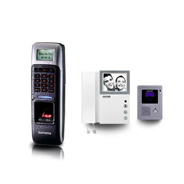 설치비포함)BIOLITENET 근태+흑백비디오폰(KVM-310) 상품이미지