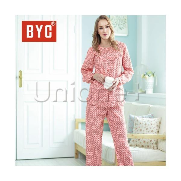 BYC여성 잠옷 레이디 60수 여상하셋트2호(핑크-8520) 상품이미지