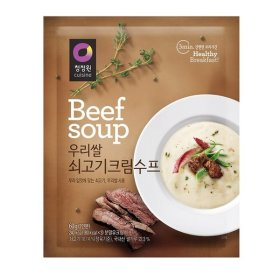 대상_청정원_우리쌀쇠고기크림수프60G