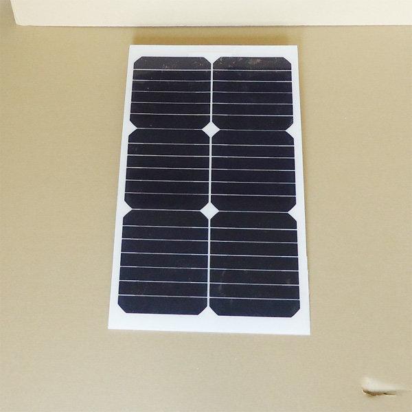 20W 고효율 태양광 패널 세미플렉시블 경량패널 상품이미지