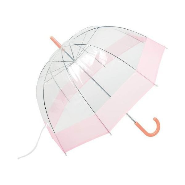 All-Weather 42 Clear Dome Bubble Umbrella (Pink/Cl 상품이미지