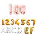 이니셜숫자알파벳은박호일풍선(소)파티용품 이벤트