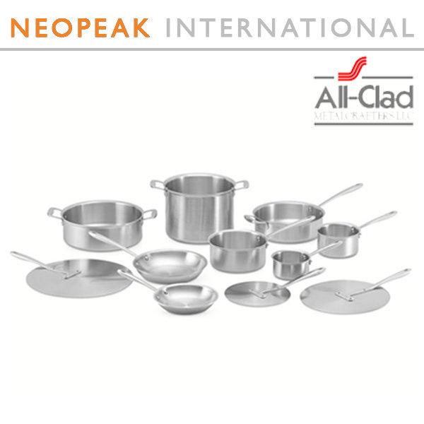 All-Clad 올 클래드 TK 11-Piece Cookware Set 상품이미지