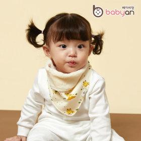 베이비앙 스카프빕 아기 유아 스노우빕 아기마스크