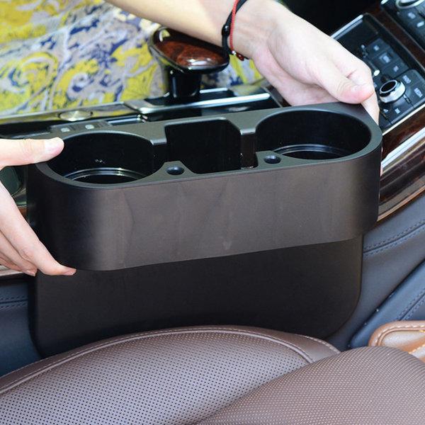 차량용 컵홀더 자동차 수납포켓 송풍구 핸드폰 거치대 상품이미지