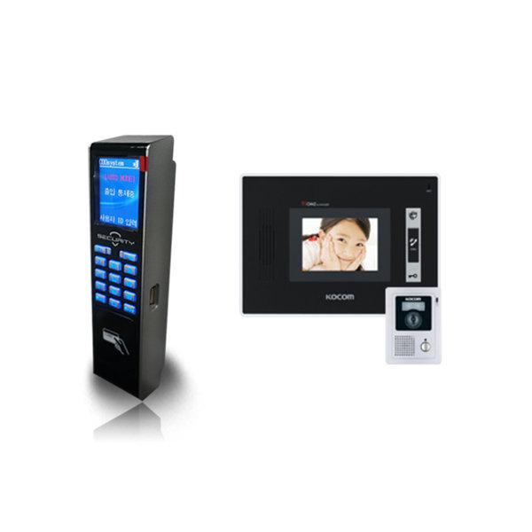 설치비포함)COO-2000R 카드키+칼라비디오폰(KCV-352) 상품이미지