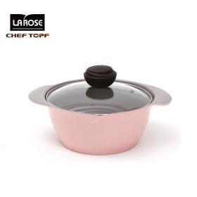 ChEF TOPF La Rose 라로제 유리양수냄비20m
