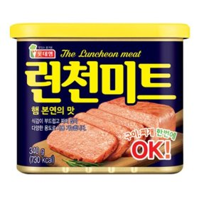LOTTE Luncheon Meat 340g/200g options