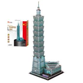 내가 만드는 세계유명건축물 3D입체퍼즐-대만금융센터