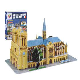 내가 만드는 세계유명건축물 3D입체퍼즐-노트르담