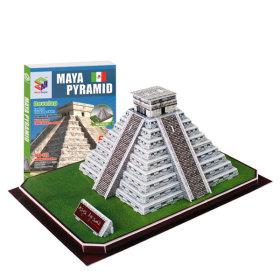 내가 만드는 세계유명건축물 3D입체퍼즐-마야피라미드