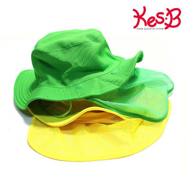 캐스B네이처 비비드숲모자 망사형(초록/노랑)/실외놀 상품이미지