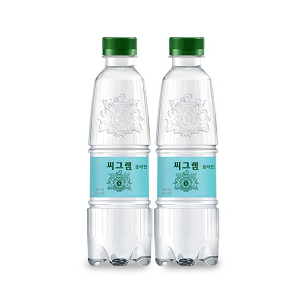 씨그램 플레인 350ml x24pet/음료수/탄산수 상품이미지