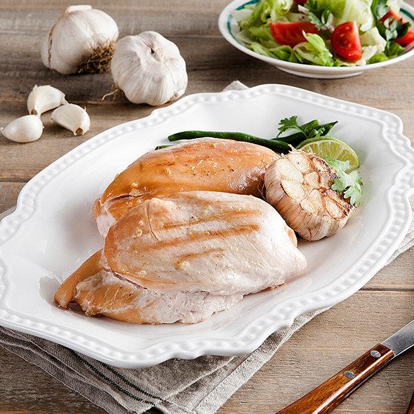 국산 냉장 훈제닭가슴살 마늘맛 1kg(200gx5팩) 상품이미지