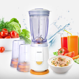 PHILIPS Mini electric blender / HR2860 / 400ml / food chopper / easy to operate /