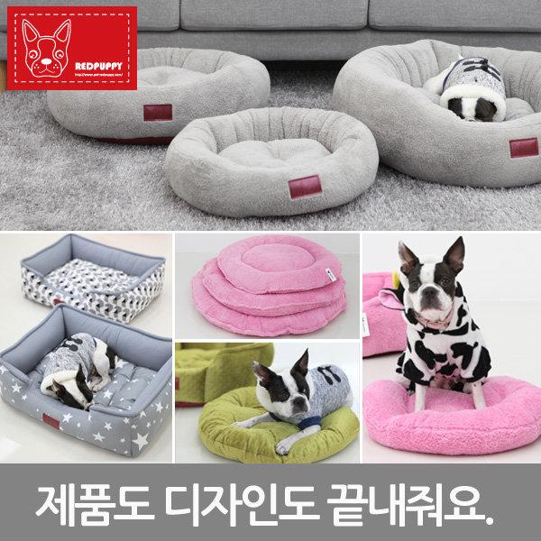 레드퍼피/마약방석/도넛방석/강아지방석/강아지쿠션 상품이미지