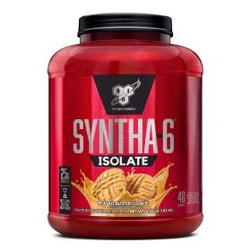 신타6 아이솔레이트 피넛 버터 쿠키 프로틴 48 서빙 유청 단백질 보충제 1.82 kg